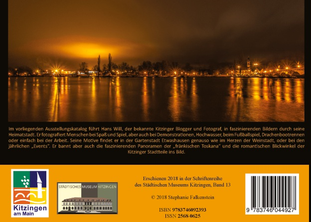 Kitzingen im Fokus Golden eye backcover